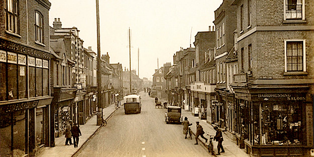 Bridge Street, St Ives, 1940s