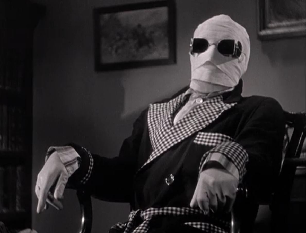 Resultado de imagen de the invisible man 1933