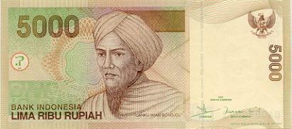 5 ribu rupiah 2000 depan