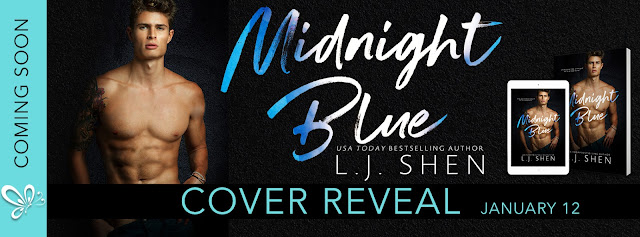 Cover Reveal for Midnight Blue by LJ Shen