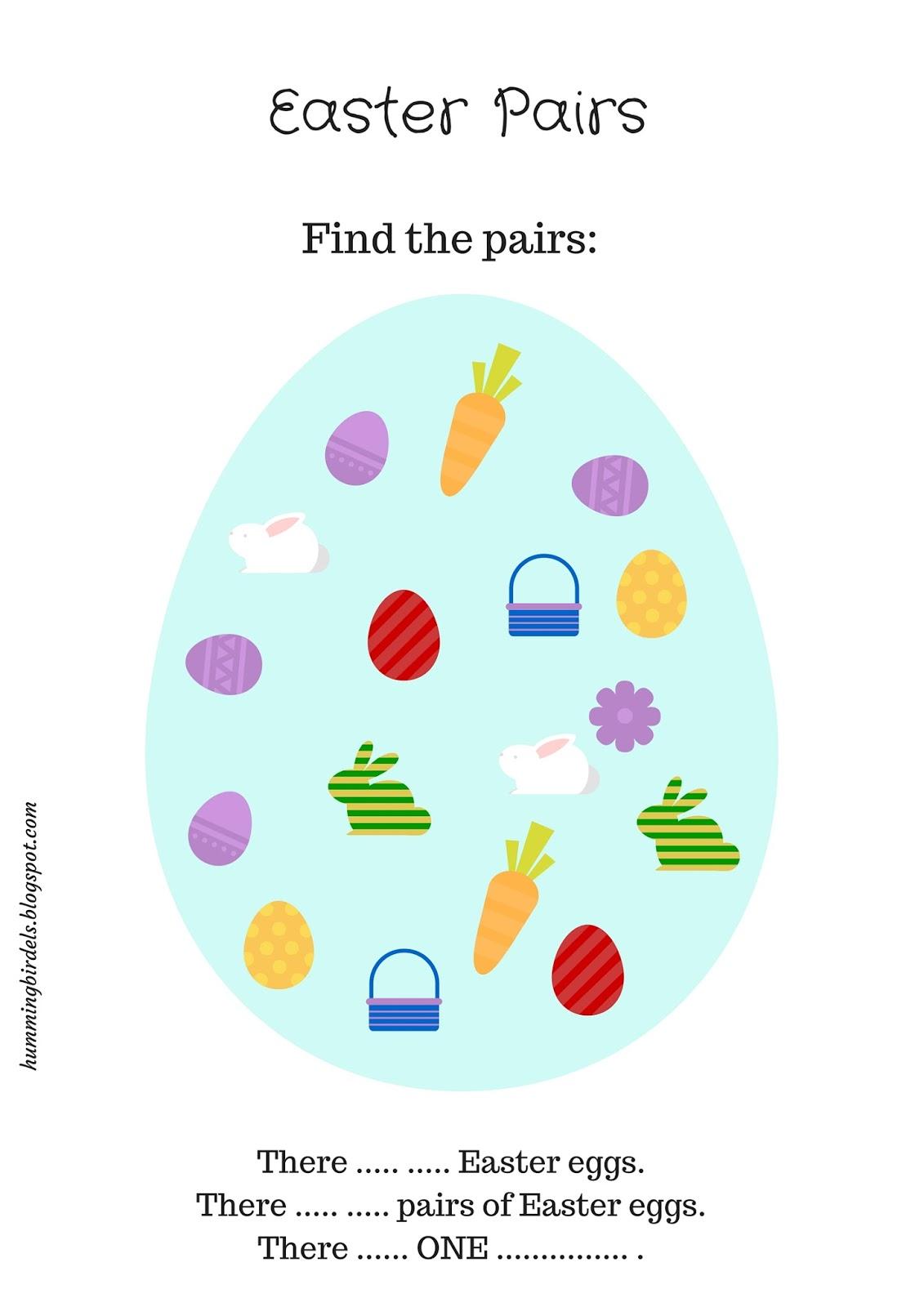 Blog dla nauczycieli języka angielskiego: Easter Worksheets, czyli ...