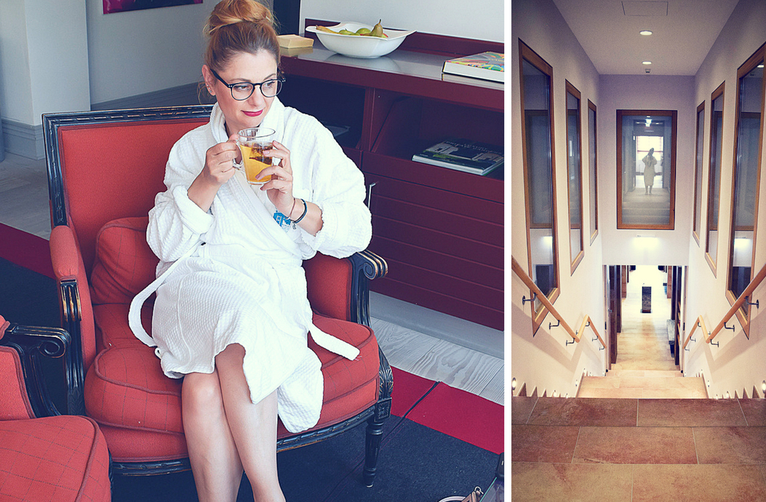 Test Wellness Bereich Hotel Gräflicher Park Grand Resort