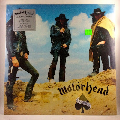 "Motörhead ""Ace Of Spades"" Bronze Records (1980)"