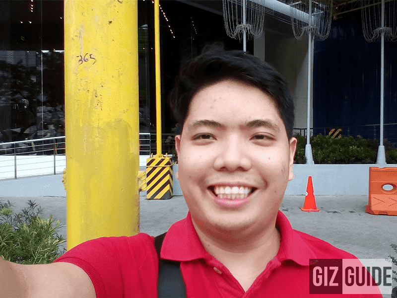 Daylight selfie