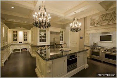 Classic Kitchen Decorations for Luxury Homes 22