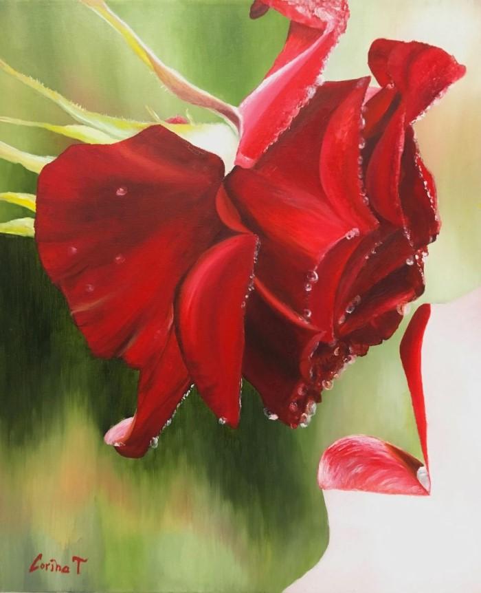 Австралийский художник. Corina Treitl