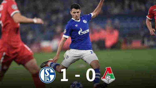 Hasil Schalke 04 vs Lokomotiv Moscow Skor Akhir 1-0