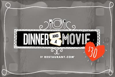Cupid's Arrow Has Hit: It's Dinner & a Movie!