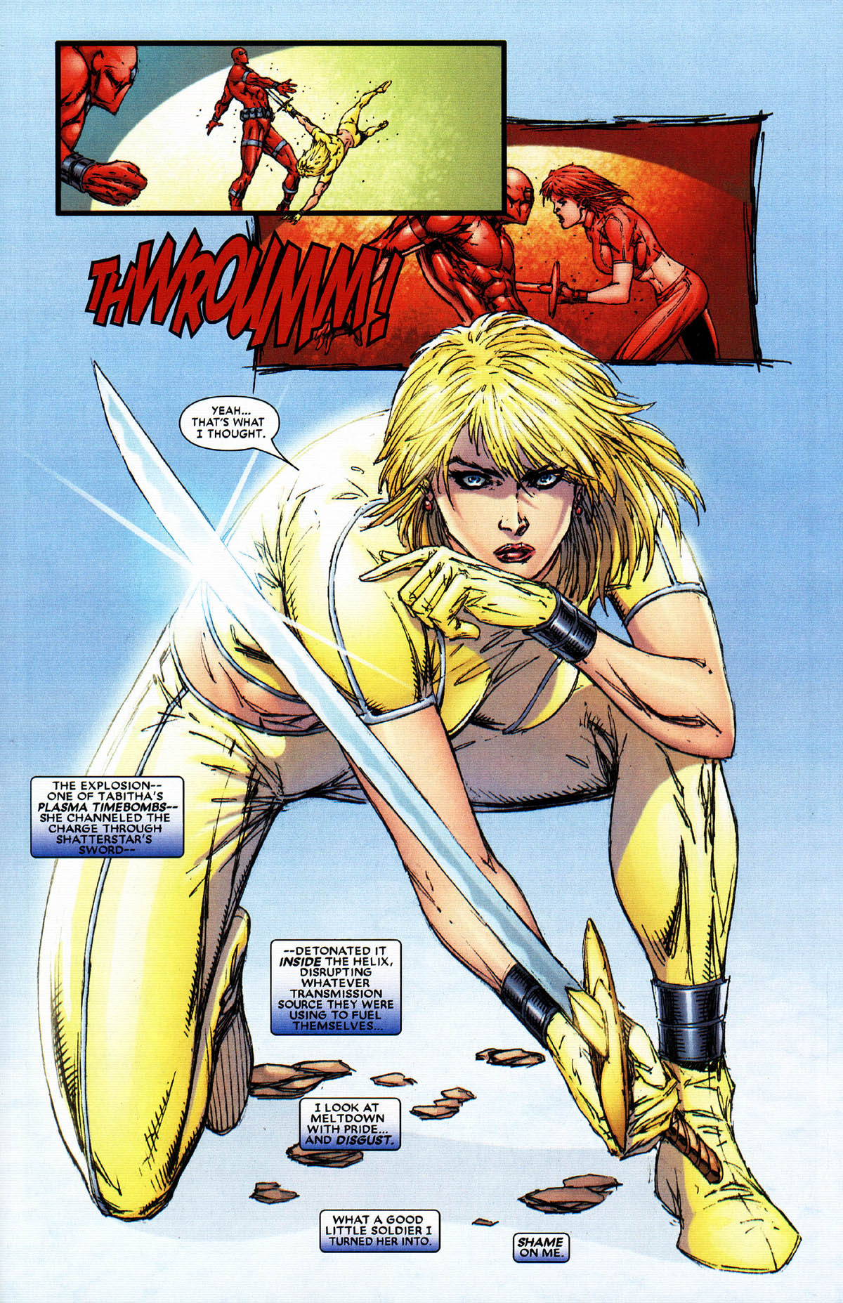 Read online X-Force (2004) comic -  Issue #6 - 22