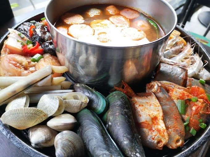 D'Kayangan Steamboat & BBQ Shah Alam, Steamboat Sedap & Murah Pilihan Keluarga