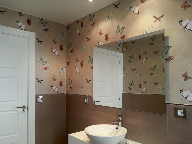 Papel pintado para un hogar original