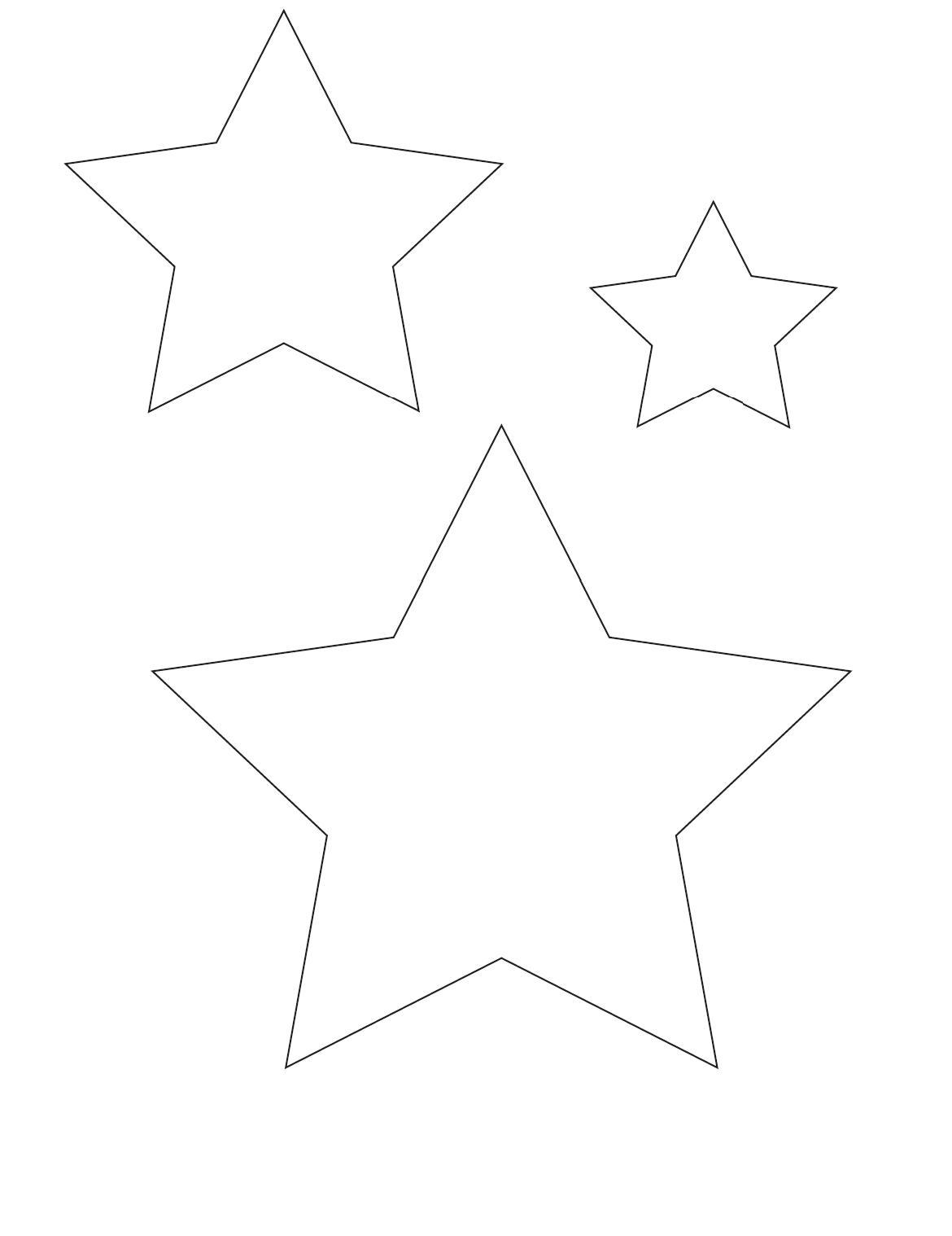 Figuras estrellas para imprimir Imagui