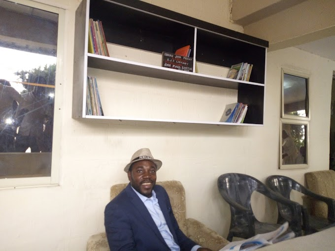 EBRIKU JOHN FRIDAY DONATES MINI LIBRARY TO ORPHANAGE HOME TO MARK RUBY CELEBRATION