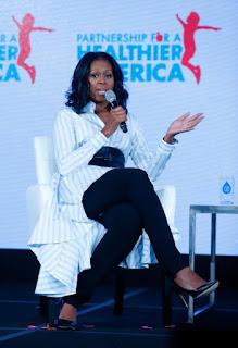 Michelle Obama and Trump