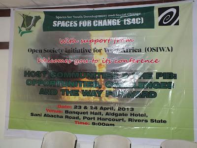 Conference Communique: PIB & Host Communities