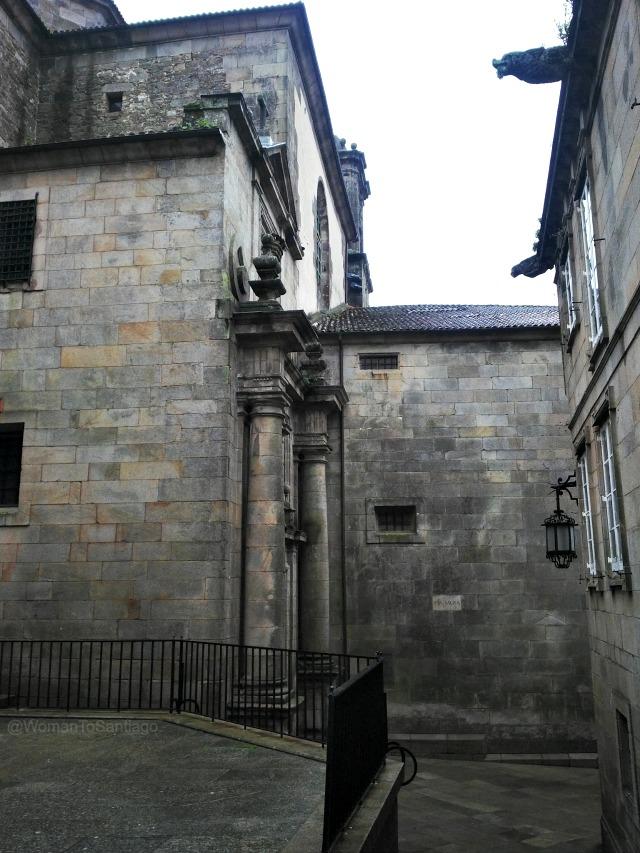 foto de rincon de la catedral de santiago