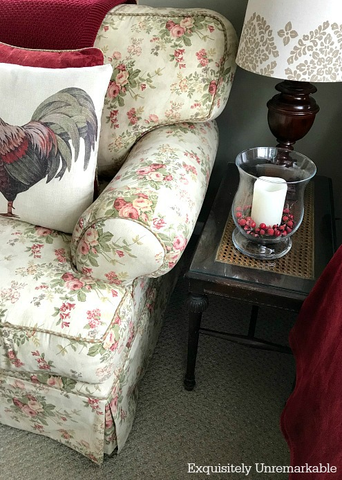 Floral Cottage Style Couch