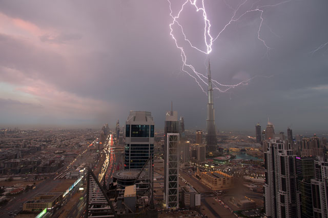 How I Captured Lightning Striking the Tallest Building in the World?