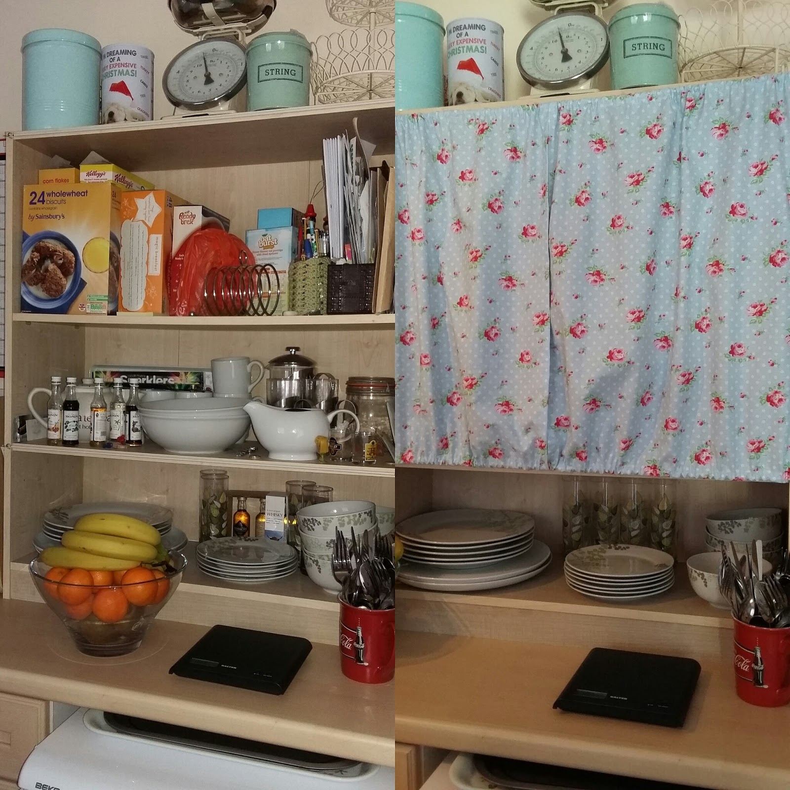 Messy Kitchen Before And After: Clair, Crochet & Coffee