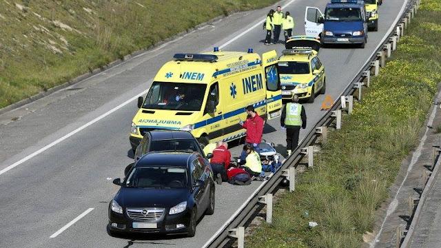 Acidente com 14 carros na A2 faz um morto e três feridos