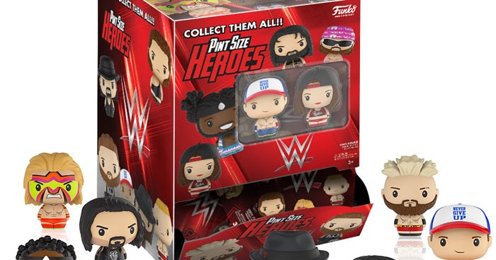 The Blot Says Wwe Pint Size Heroes Blind Bag Series By