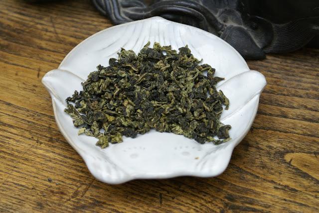 oolong ou thé bleu vert