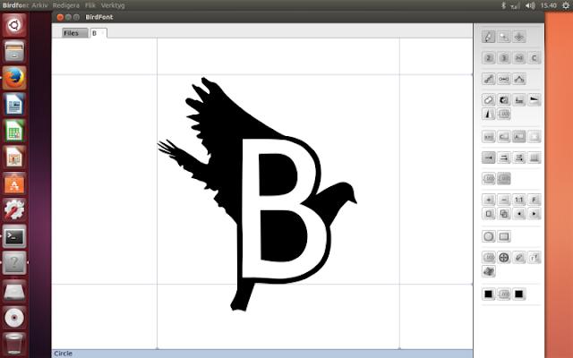 Como instalar o editor de fontes Birdfont no Ubuntu, Linux Mint e ElementaryOS!