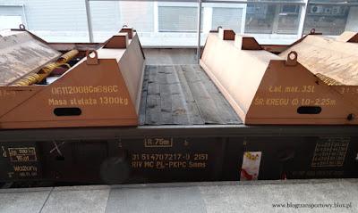 Wagon platforma serii Smms