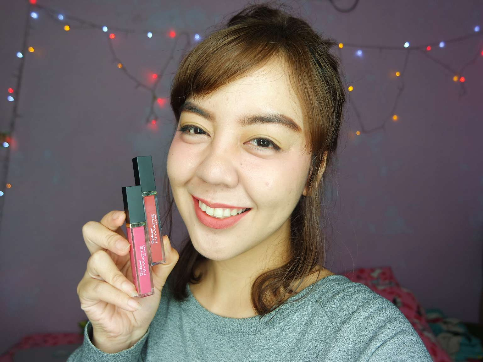 Purbasari Hi Matte Lip Cream Utotia Beauty Blog