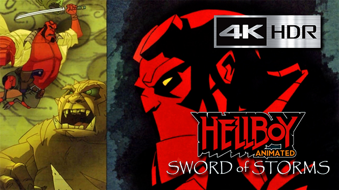 Hellboy Animado: La Espada de las Tormentas (2006) 4K UHD [HDR] Latino-Ingles