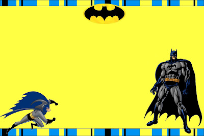 Batman Free Printable Invitations Oh My Fiesta in english