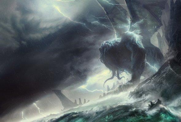 François Baranger artstation arte ilustrações fantasia terror ficção científica artes conceituais games sombrio lovecraft cthulhu