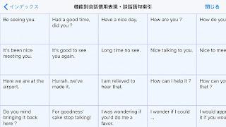 iPhone-ロイヤル英文法-会話表現