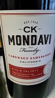 The Winos Wine Guide Ck Mondavi Cabernet Sauvignon
