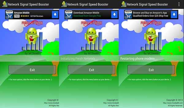 Aplikasi Network Signal Speed Booster