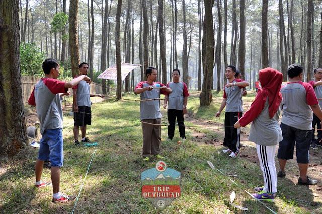 Permainan Outbound Lembang Bandung - Trip Outbound