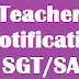 AP DSC 2017 Teachers Posts Recruitment Notification For 22418(9061) SGT/SA/LP/PET Posts