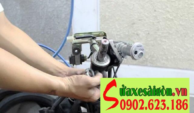 Sửa chữa, thay chén cổ, bạc đạn cổ xe Nouvo LX tại TpHCM