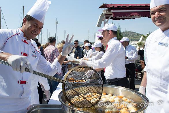 otellerin lokma tencereleri, 15 Nisan turizm sezonu başlangıç etkinlikleri, Bodrum
