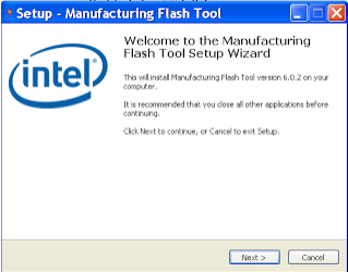 Download Latest Intel Manufacturing Flash Tool  v6.0.51 For Windows