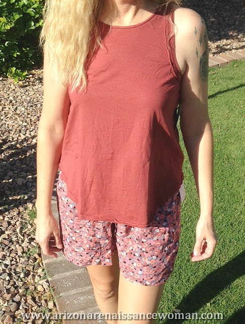 Free People Layla Floral Print Shorts and Sydney Tank (3) - Trunk Club Review April 2016