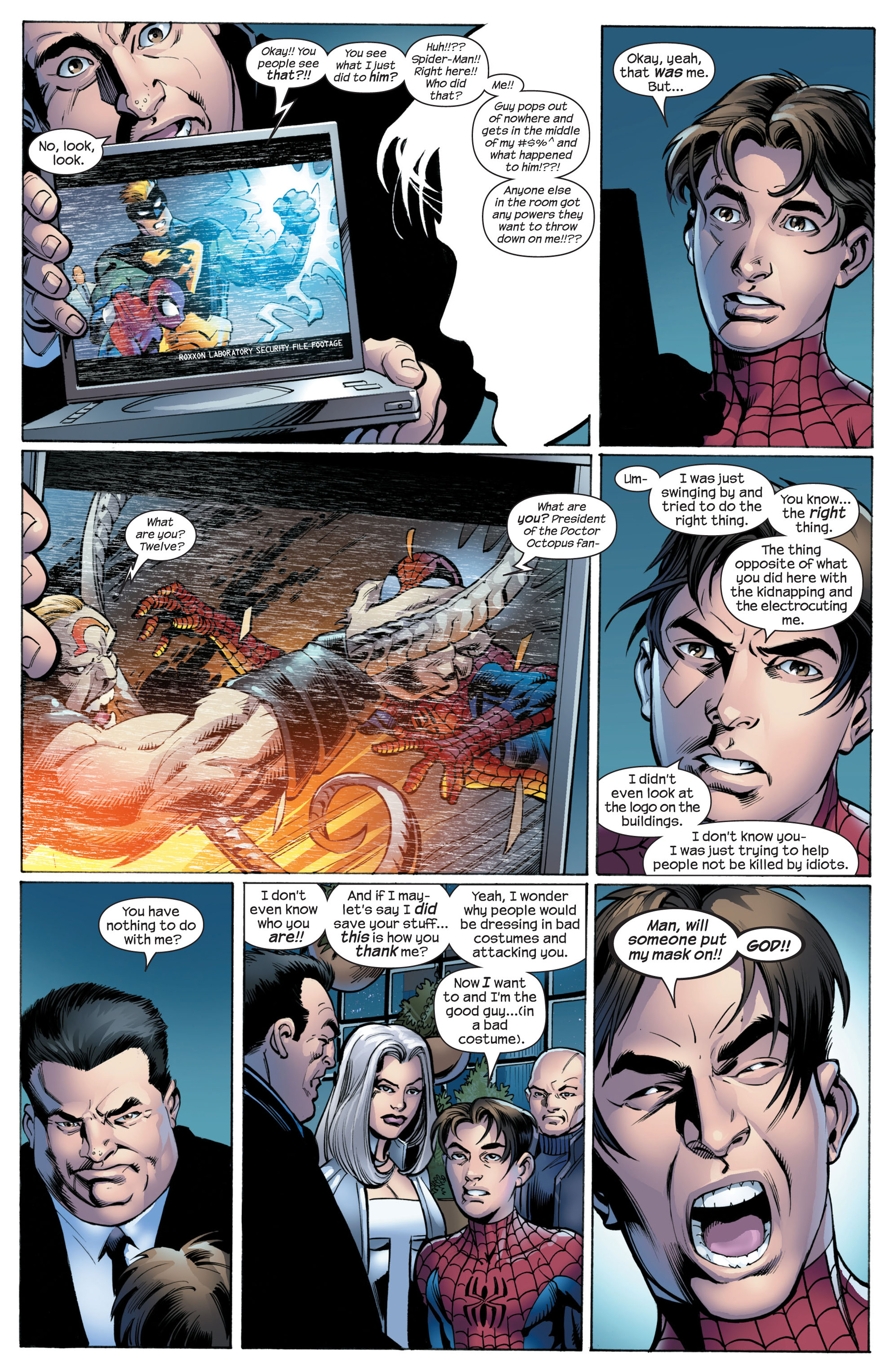 Read online Ultimate Spider-Man (2000) comic -  Issue #89 - 10