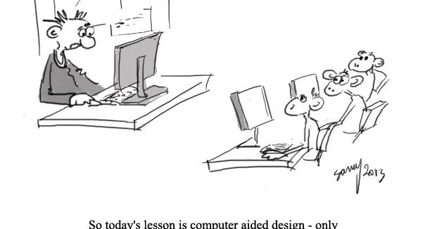 Imprimatür !: Computer Aided Design for Primates