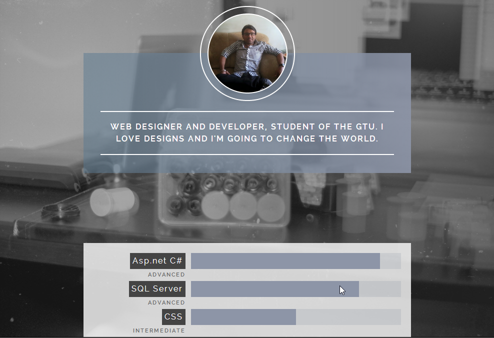 40+ Free Attractive User Profile Widget for About Page Design with