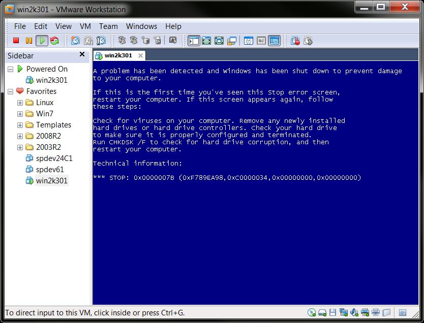 migrate windows 98 to vmware