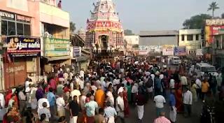 கும்பகோணம் சாரங்கபாணி சுவாமி கோவிலில் தேரோட்டம்