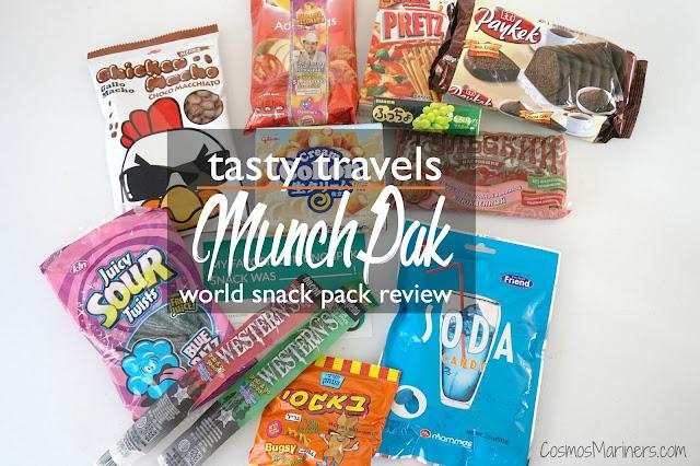 Tasty Travels: MunchPak World Snack Box Review | CosmosMariners.com