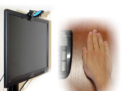 التحكم فى سهم الفأره دون لمس الكمبيوتر
