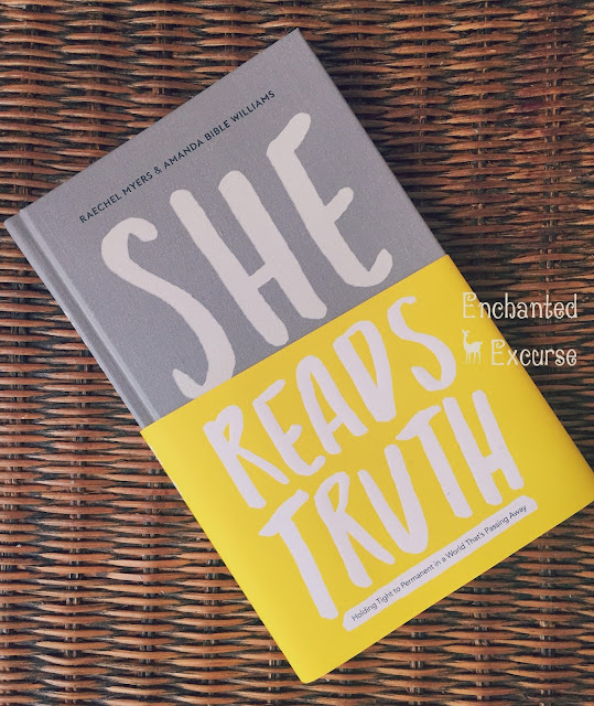 www.enchantedexcurse.com Book Review for She Reads Truth: Holding Tight To A Permanent In A World That's Passing Away by Raechel Meyers and Amanda Bible Williams, complimentary from B&H Publishing. Provided I give an Honest Response.