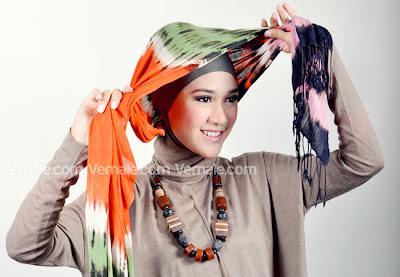 Tutorial Gaya Turban Etnik  Tutorial Hijab